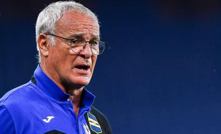 Ranieri recupero Sampdoria Milan