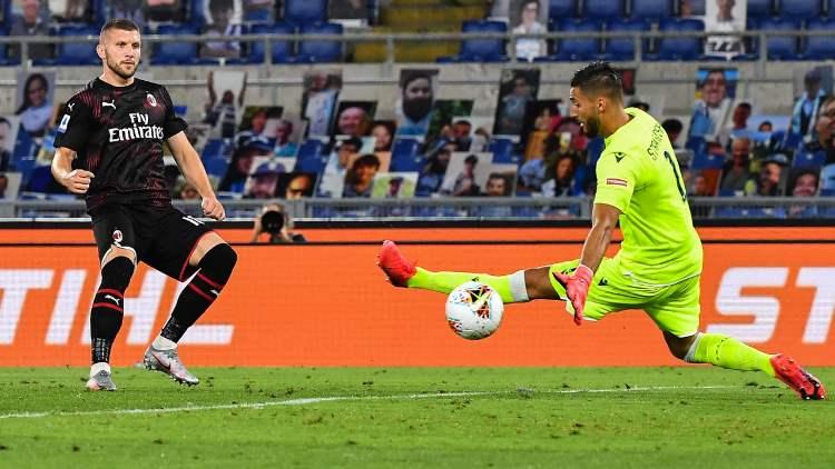 Rebic Lazio Milan