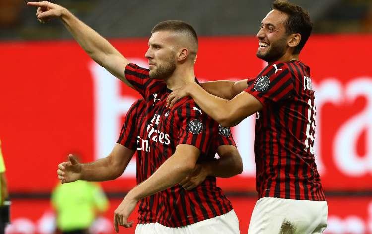Milan-Bologna formazioni ufficiali
