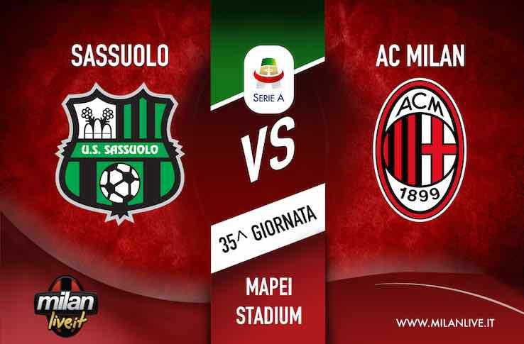 Sassuolo Milan live