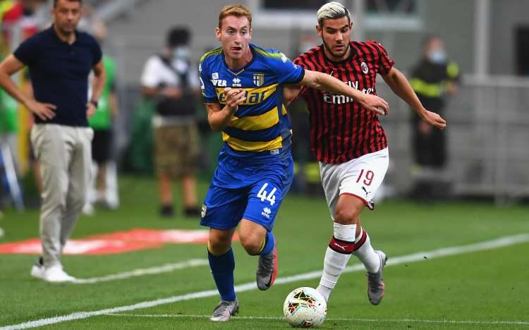 classifica dopo Milan Parma