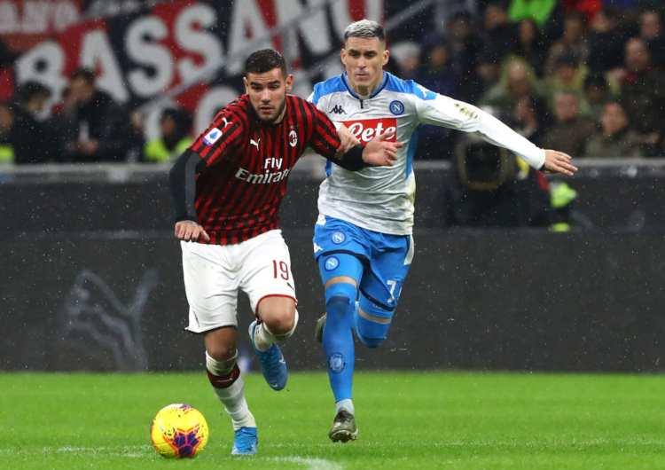 Napoli Milan attacco
