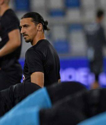 Lazio-Milan Ibra titolare