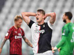 de Ligt squalificato Milan-Juve