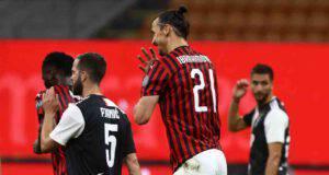 Ibrahimovic rigore Ronaldo
