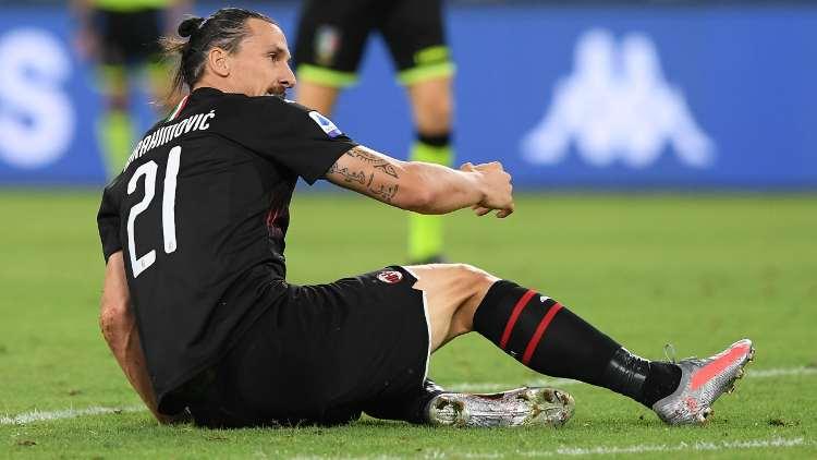 Ibrahimovic Sassuolo Milan