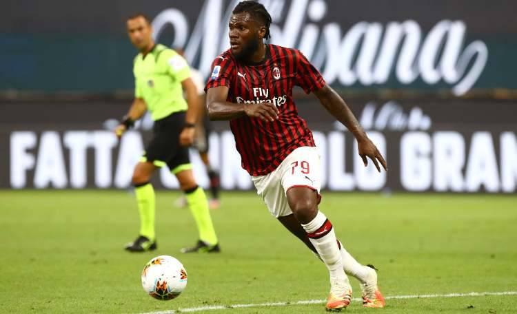 Kessie difensore Milan Atalanta