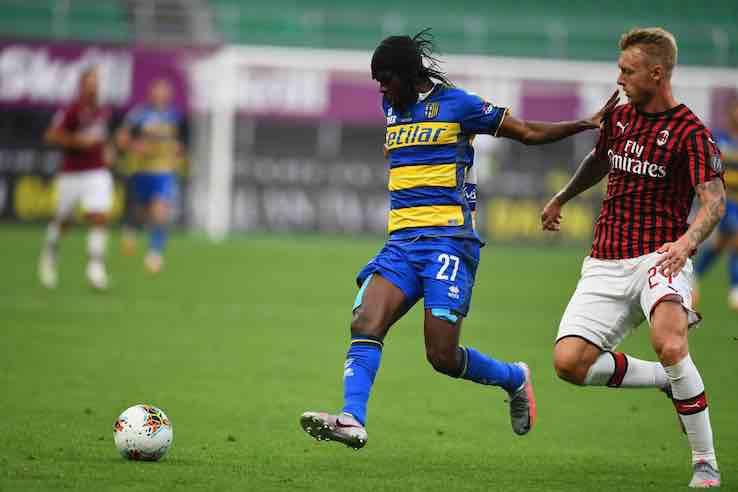 Kjaer intervista Milan Parma