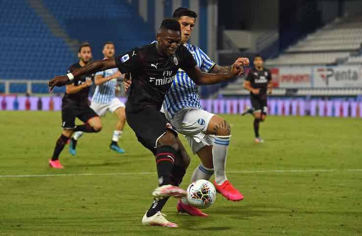 Leao gol Spal Milan
