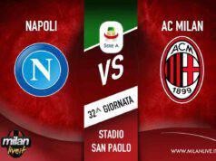 Napoli Milan risultato live