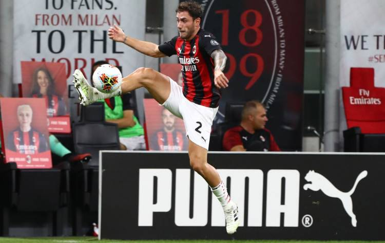 Davide Calabria Milan