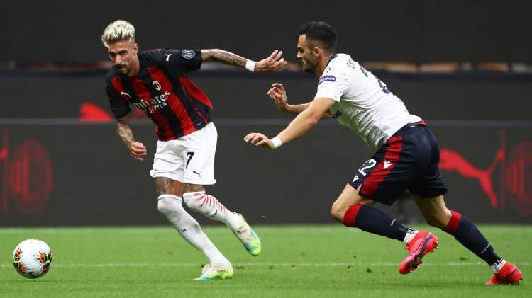 Inter Milan ballottaggi trequarti