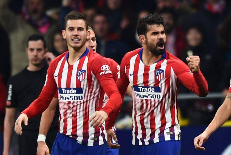 Diego Costa Atletico Barcellona