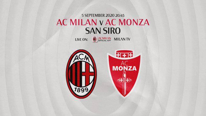 amichevole Milan Monza