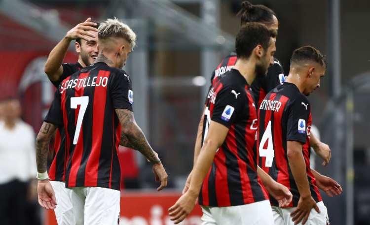 Milan Cagliari classifica
