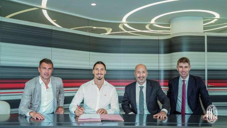 Ibrahimovic firma rinnovo Milan