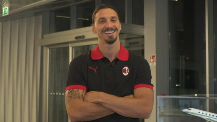 Ibrahimovic tornato a Milano