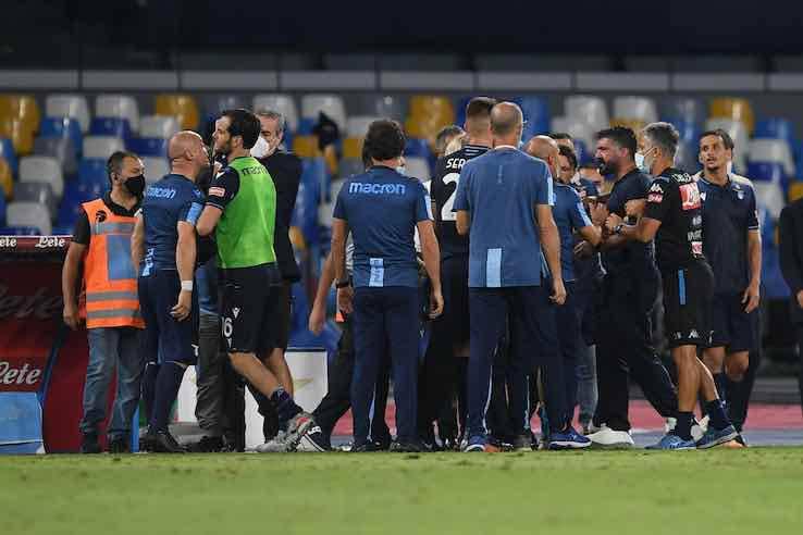 Gattuso Napoli Lazio