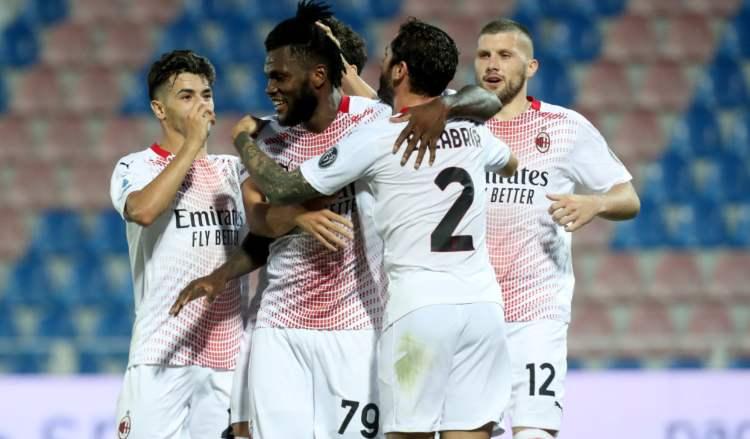 Crotone Milan risultato finale