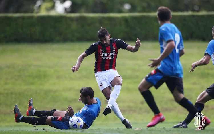 video gol highlights Milan-Novara