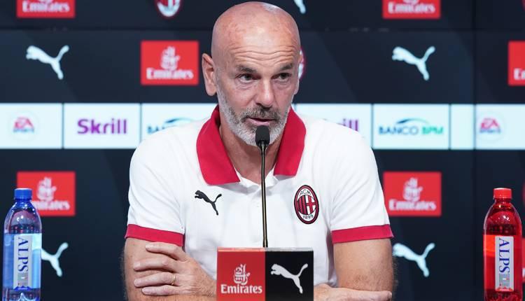 Stefano Pioli conferenza stampa