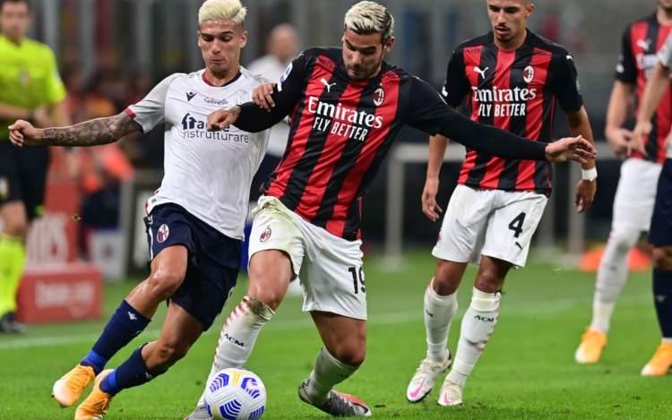 Theo Hernandez Milan Bologna
