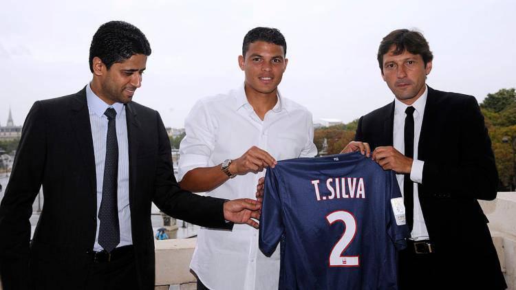 Thiago Silva attacca Leonardo