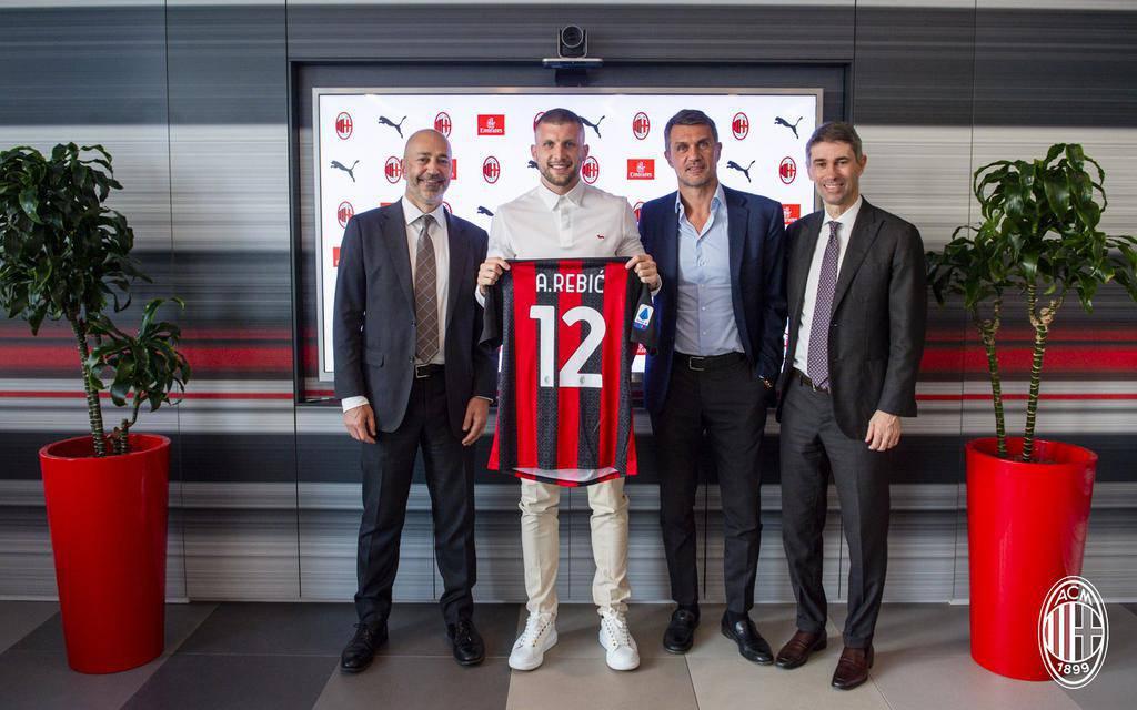 Rebic Milan ufficiale