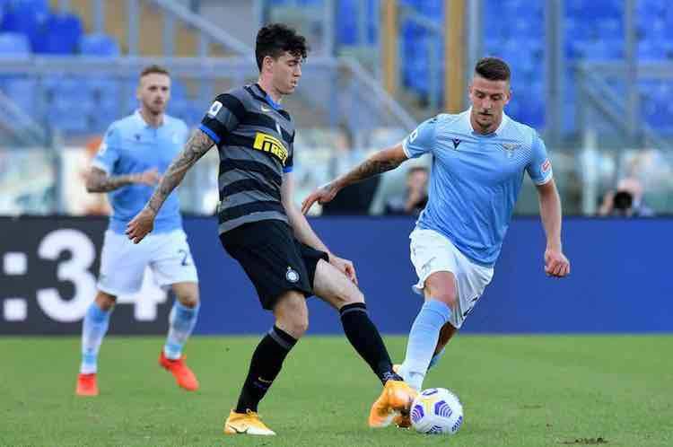 Bastoni positivo Inter-Milan