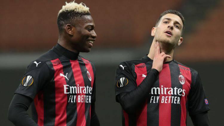Dalot Leao Benevento Milan