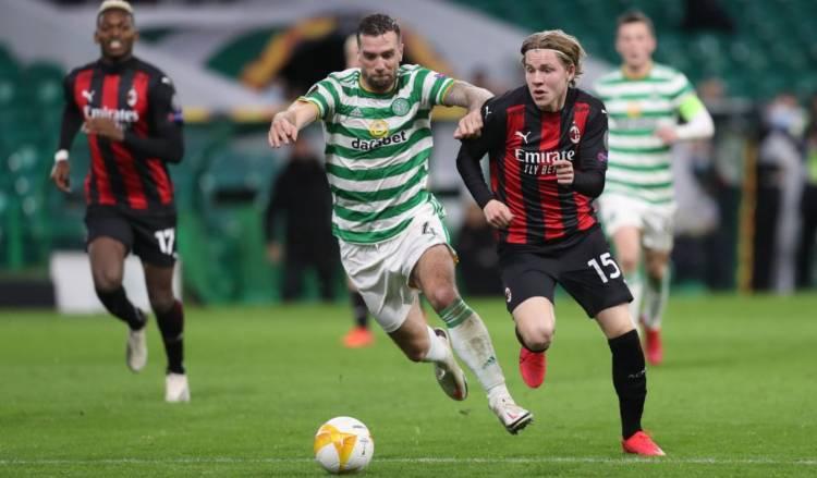 Hauge gol Celtic Milan