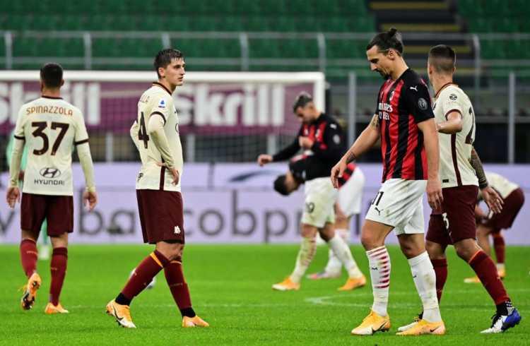 Milan-Roma pari