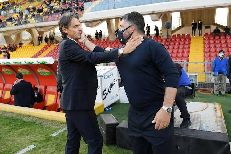 Inzaghi Gattuso ex Milan