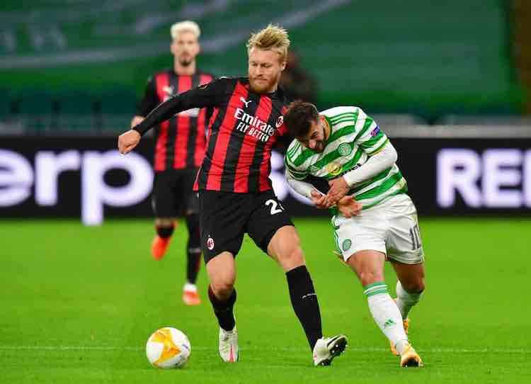 Simon Kjaer post Celtic-Milan