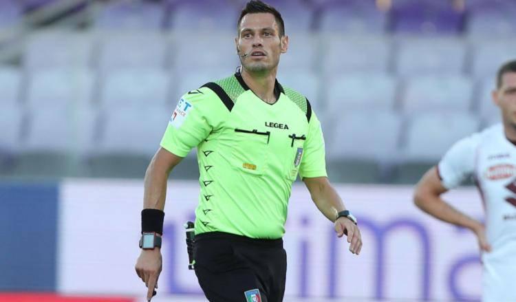 Arbitro Mariani derby Inter Milan