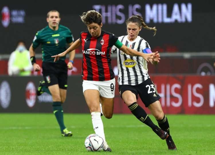 Milan Juve femminile