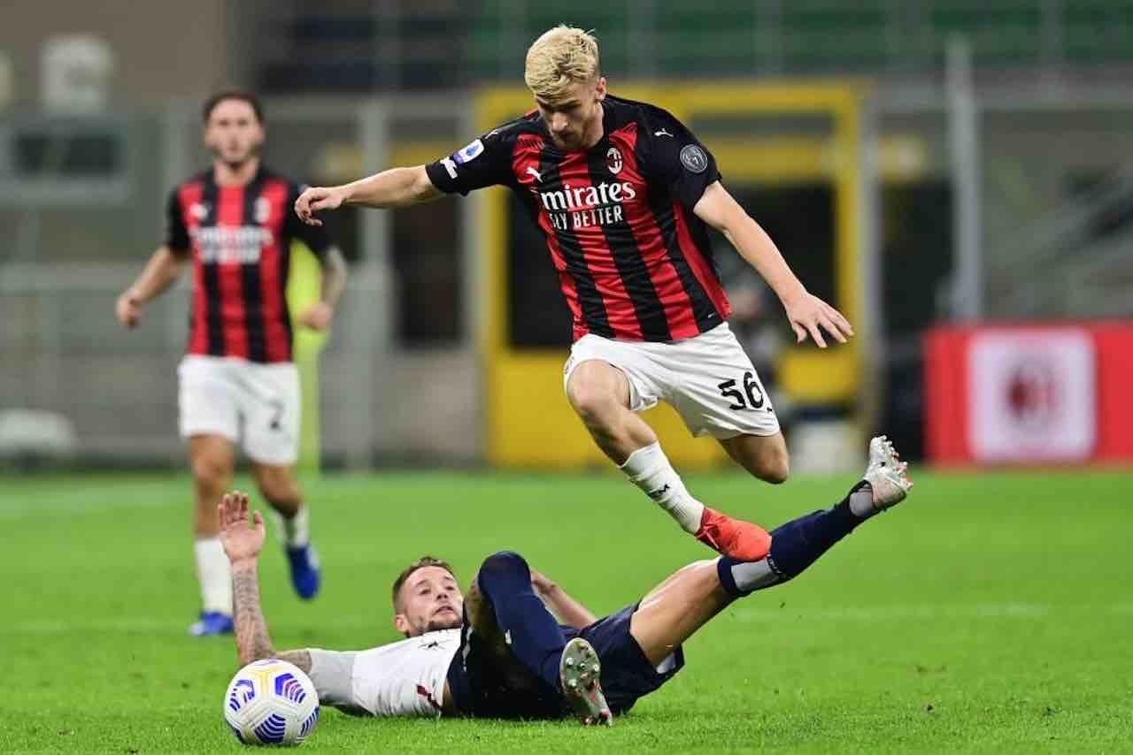 """Milan-Roma, Saelemaekers: """"Dimostriamo di poter vincere senza Donnarumma"""""""