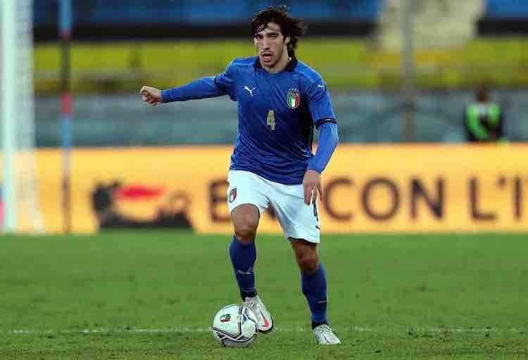 Sandro Tonali Under 21 Italia