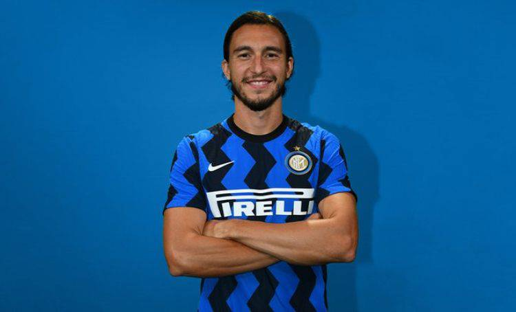 Matteo Darmian all'Inter