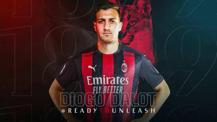 Diogo Dalot Milan