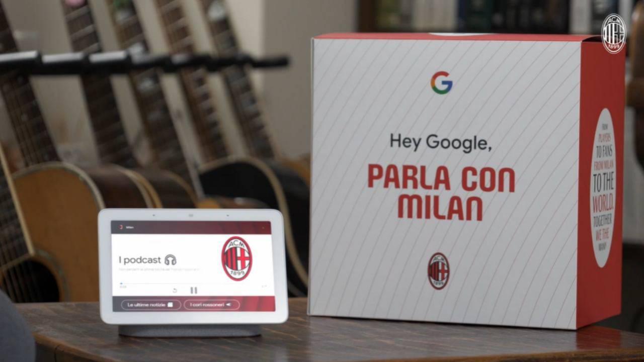 Google AC Milan