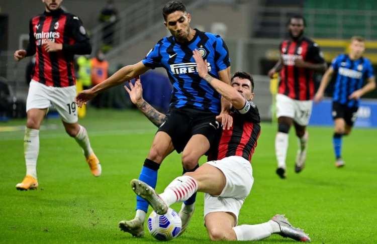 Romagnoli felice derby Inter Milan
