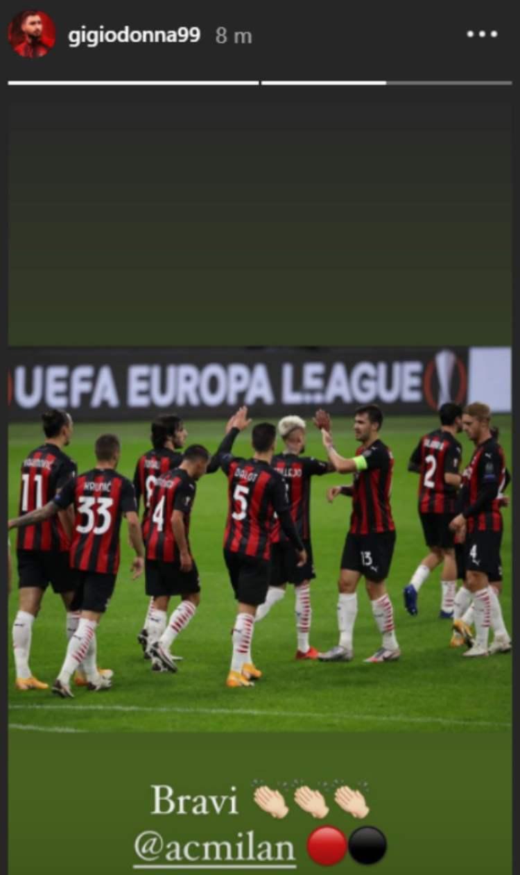 Donnarumma Milan Sparta Praga