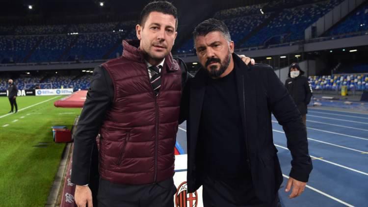 Gattuso Napoli Milan