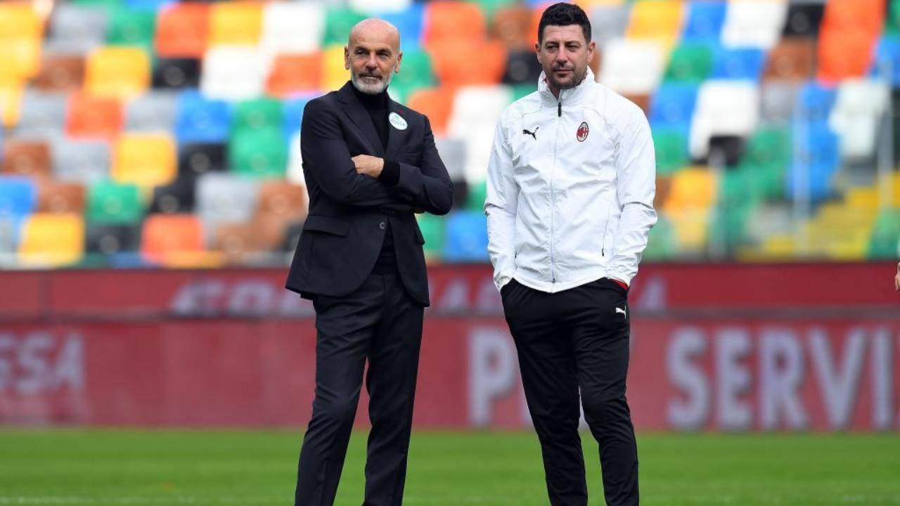 Pioli e Murelli positivi al Covid: due sostituti per Napoli-Milan