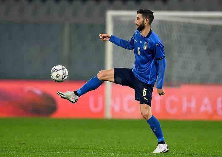 Roberto Gagliardini positivo italia