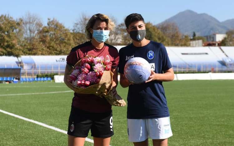 Napoli-Milan femminile