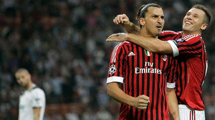 Cassano Milan decimo senza Ibra
