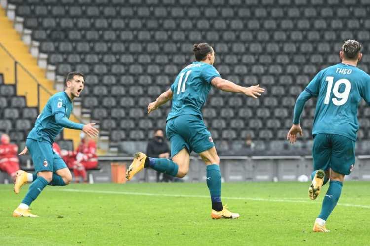 Udinese-Milan Ibrahimovic