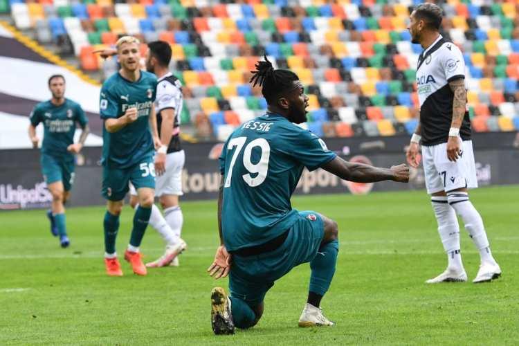 Kessie Udinese-Milan